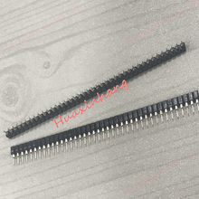 100pcs/lot 2.54mm Pin Header Female Single Row 40 Pin 2.54mm Round mother seat Connector 1x40 стоимость