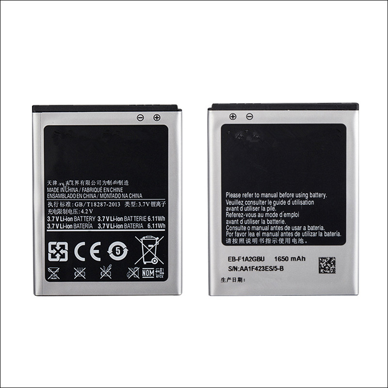 1650mah EB-F1A2GBU replacement Phone Battery For Samsung Galaxy S2 <font><b>i9100</b></font> i9108 i9103 I777 i9105 i9100G i9188 i9050 image
