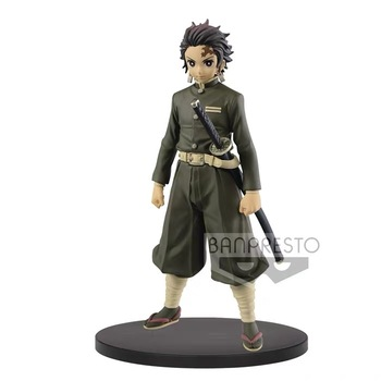 In Stock Original Banpresto Kimetsu no Yaiba figure Tanjiro Kamado PVC action model Figurals