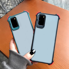case for samsung galaxy s10 s9 s8 plus s20 ultra nillkin super frosted shield back cover for samsung s20 gift phone holder For Samsung S10 Case Frosted Clear Airbag Shockproof Cover For Samsung Galaxy S9 S8 S20 Plus S10 Note 10 Lite S20 Ultra Cases