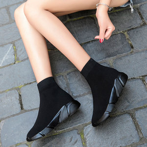 Image 4 - MWY modne buty w stylu Casual kobieta wygodna oddychająca siateczka miękka podeszwa kobiet platforma trampki kobiety Chaussure Femme basket femme