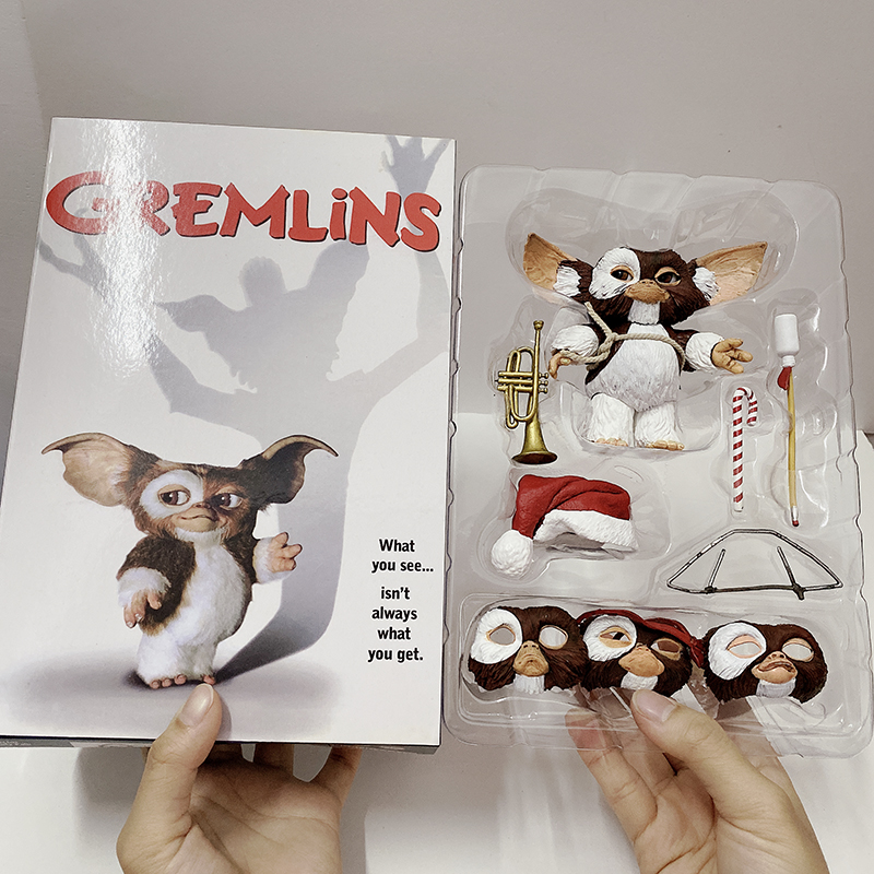 5inch 12cm NECA Movie Gremlins New Christmas Edition Gremlins Action Figure Toy Collection Doll Christmas Gift