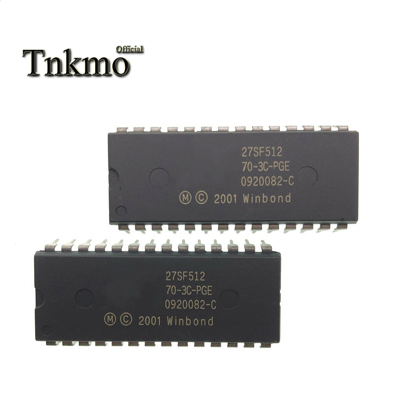 50pcs SST27SF512 EPROM SST27SF512-70-3C-PGE 512K DIP-28