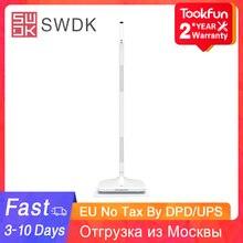 חם SWDK חשמלי סמרטוט D260 כף יד אלחוטי מים תרסיס סמרטוט רצפת cleanr עצלן שימוש חכם ביתי ניקוי כלים 90 ° סיבוב