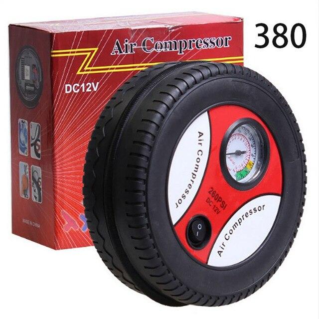Car Air Pump 260PSI DC 12V Portable Electric Mini Tire Inflator Air Compressor Car Auto Pump 156W 1
