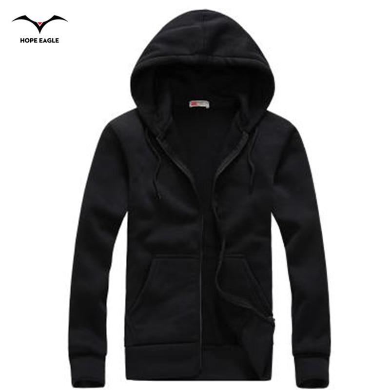 New 2019 Men Hoodie Homme Spring & Autumn Period Mens Hoodies Outerwear male Casual coat Brand zipper Hoodies &Sweatshirts XXL