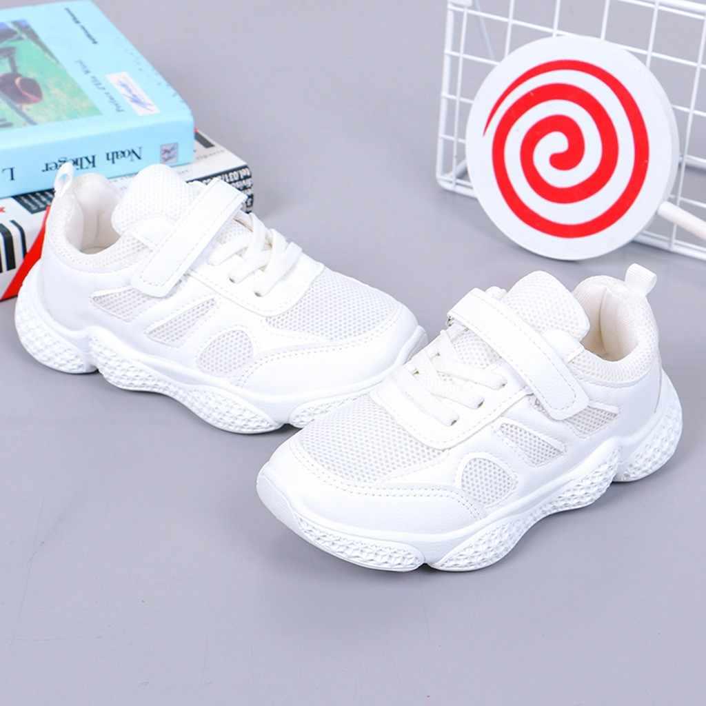 Niños Zapatos Bebé niñas niños Patchwork malla Solf deporte Zapatillas Casual Niña Zapatos para niños Zapatillas Tenis Infantil