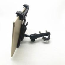 OEM ayarlanabilir tablet cradle tutucu 1 inç top ile iPad hava mini için 1 2 3 4 ve 7 12 inç tabletler uyumlu