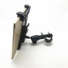 OEM regulowany uchwyt na tablet z 1 calową kulką do ipada Air mini 1 2 3 4 i 7 12 calowych tabletów kompatybilny