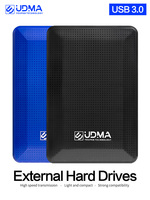 UDMA USB 3.0 SATA 휴대용 외장 하드 드라이브 1 테라바이트 2 테라바이트 2.5