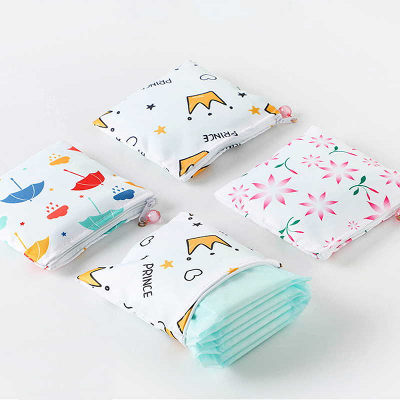 Travel Women Sanitary Pad Organizer Purse Holder Napkin Storage Bags Cosmetic Pouch Case Digital Accessories Holder Container
