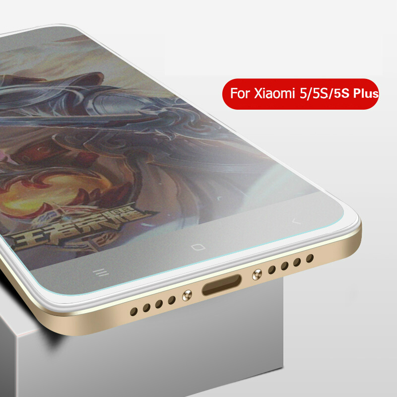 JGKK For Xiaomi Mi 5 5S Plus 5SPlus Tempered Glass 2.5D Explosion-Proof Matte Frosted Screen Protector For Xiaomi Mi5S Plus Mi5