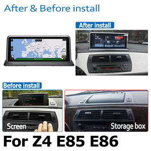 Image 4 - Android 8.0 2+32 Car DVD Navi Player For BMW Z4 E85 E86 2002~2008 Audio Stereo HD Touch Screen WiFi Bluetooth original style