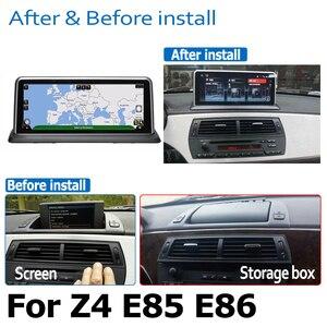 Image 4 - Android 8.0 2 + 32 samochodowy odtwarzacz dvd odtwarzacz Navi dla BMW Z4 E85 E86 2002 ~ 2008 audio stereo HD ekran dotykowy WiFi Bluetooth oryginalny styl