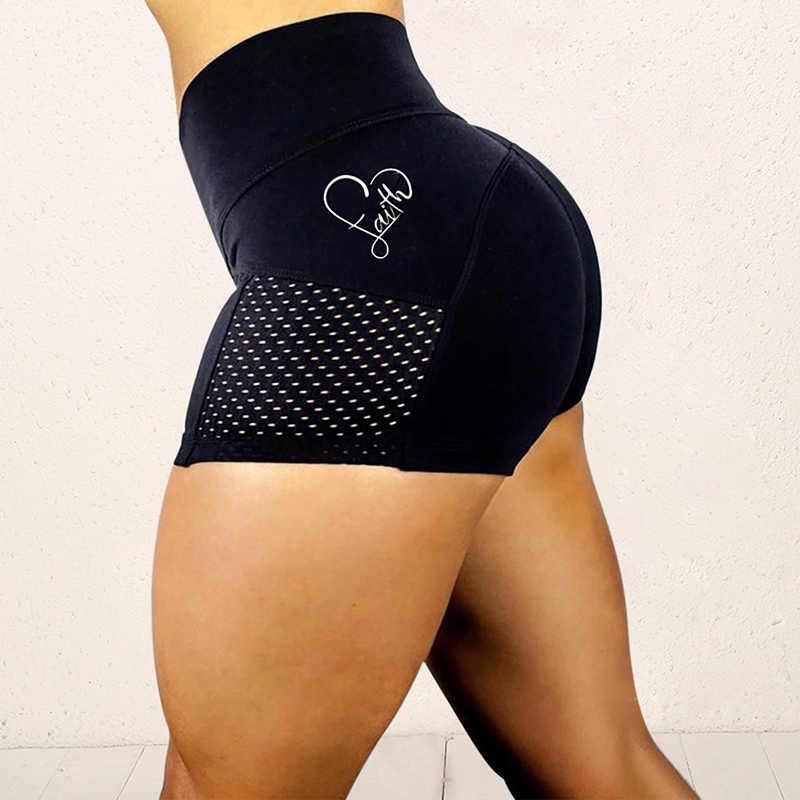 ผู้หญิงเซ็กซี่กีฬาโยคะกางเกงขาสั้นยิมPush Upยกกางเกงขายาวออกกำลังกายสั้นกางเกงขาสั้นผู้หญิง
