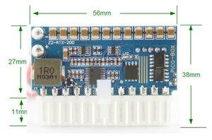 Image 4 - 200W 24pin DC DC ATX PSU PICO BOX DC 12V Pico ATX Switch Peak PSU MINI ITX DC to Car ATX PC Power Supply wide input Computer