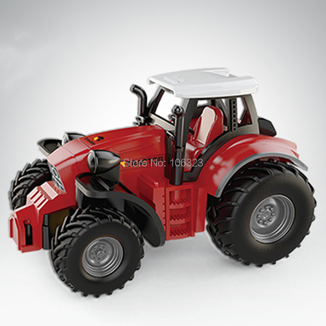 RC Mini Farmer Car, Die-Casting Farm Tractors, Craze Match New Driving Emotion Radio Control Car Run Rac, Super Impetus R/C Toys 4
