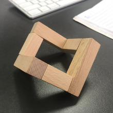 Wood Bracket for Moon Shaped Lamp Holder Ball Detachable Smooth Solid Light Stand Base Fittings