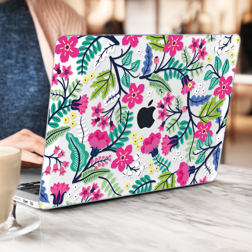 Floral Case for MacBook 195