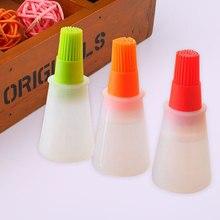 1 шт. принадлежности для барбекю кисточки для бутылок с маслом кухонные принадлежности случайный цвет