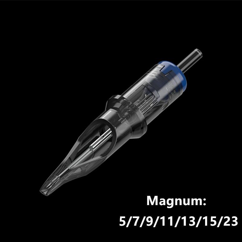 Тату-иглы революционный картридж сплетенный Magnum Shader #12 (игла 0,35 мм) 1205M1 1207M1 1209M1 1211M1 1213M1 1215M1 20 шт./кор.