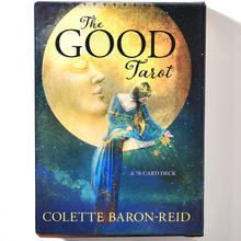 The Good Tarot 78 Card Deck Vintage Set Waite Rider Oracle Divination Sealed New Cards Game Board Party guidance Oracle albano waite tarot deck 78 карт инструкция aw78 коробка на англ яз
