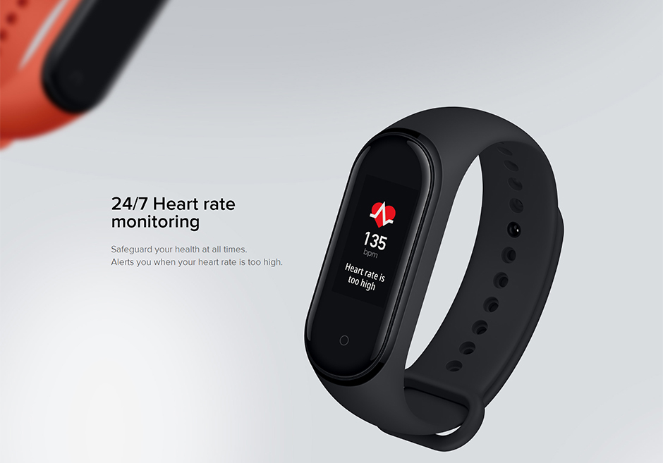 Heb4c256e6f124295922128b337ee50413 Xiaomi Mi Band 4 Smart Bracelet 3 Color Miband 4 Smartband AMOLED Screen Fitness Traker Bluetooth Sport Waterproof Smart Band