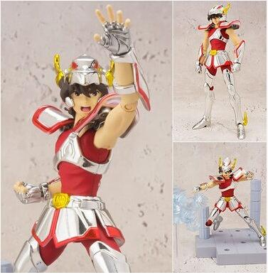 Original <font><b>Bandai</b></font> D.D.PANORAMATION scene <font><b>saint</b></font> <font><b>seiya</b></font> <font><b>myth</b></font> <font><b>cloth</b></font> Pegasus <font><b>Seiya</b></font> action figure Collectible Ver Model 10CM image