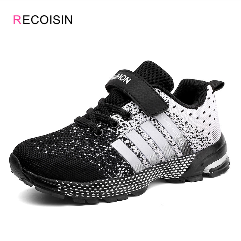 RECOISIN New 2020 Autunm Children's Sneakers Comfortable Sports Shoes For Boys Fashion Casual Running Kids Shoes Basket Enfant