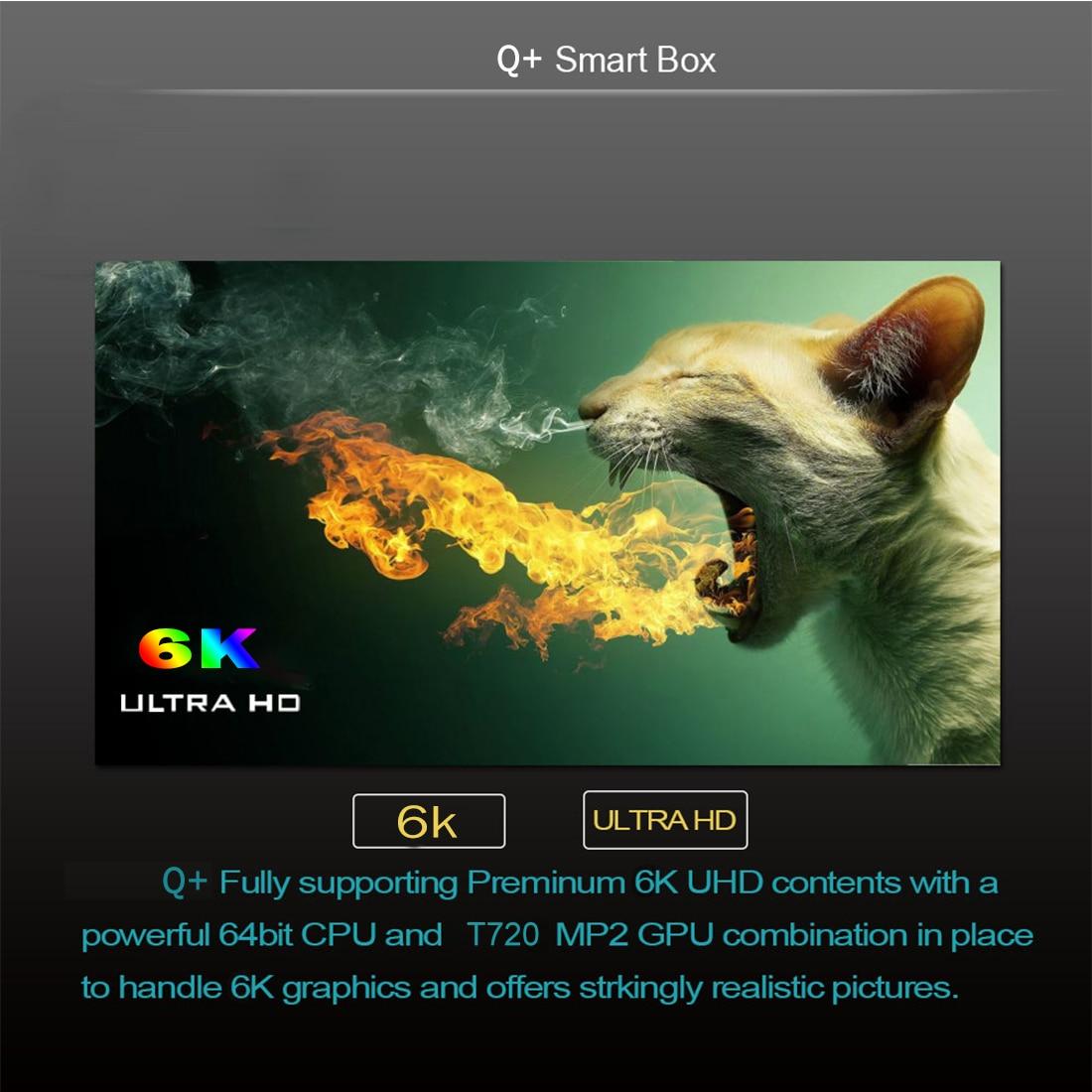 lowest price Q Plus Smart TV Box Android 9 0 TV Box 4GB RAM 32GB 64GB ROM Quad Core H 265 USB3 0 2 4G WiFi Set Top Box 4K TVBOX Media Player