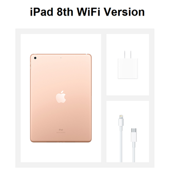 Apple iPad 8th Gen 2020 10.2″ Retina Display 32/128G IOS Tablet WIFI/Cellular