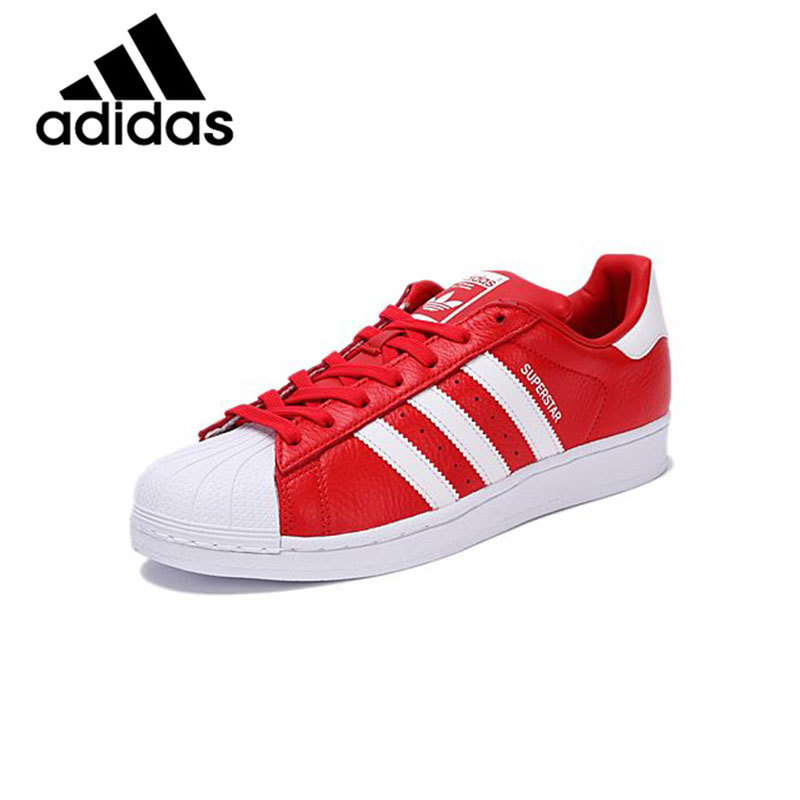 Original Authentic Adidas Superstar Men's And Women's Skateboarding Shoes New Neutral Clover Series Casual Sneakers BB2240