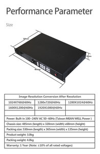 Image 5 - new produce full color  mvp300 video processor scaler support 2 linsn sending cards  for commercial advertising led display
