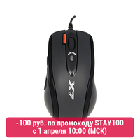 Mouse A4 X 718BK Computer & Office Computer Peripherals Mice & Keyboards Mouse