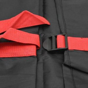 Image 5 - 4Pcs อะไหล่ยางกรณีโพลีเอสเตอร์ฤดูหนาวและฤดูร้อนยางรถเก็บกระเป๋า Auto ยางอุปกรณ์เสริมล้อรถป้องกันสีแดง