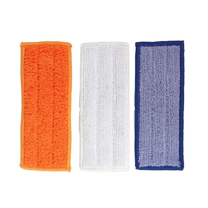 Vacuum Wet Dry Mop Cloth Pads Scraper Kit Replace For IRobot M6 Floor Sweeper