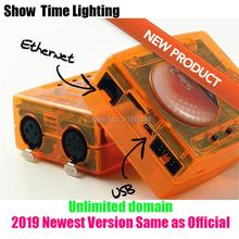 цена на Promotion Sunlite Suite2 FC DMX-USD Controller have 1536 Channels pro for DJ Party LED Lights Stage Lighting control software