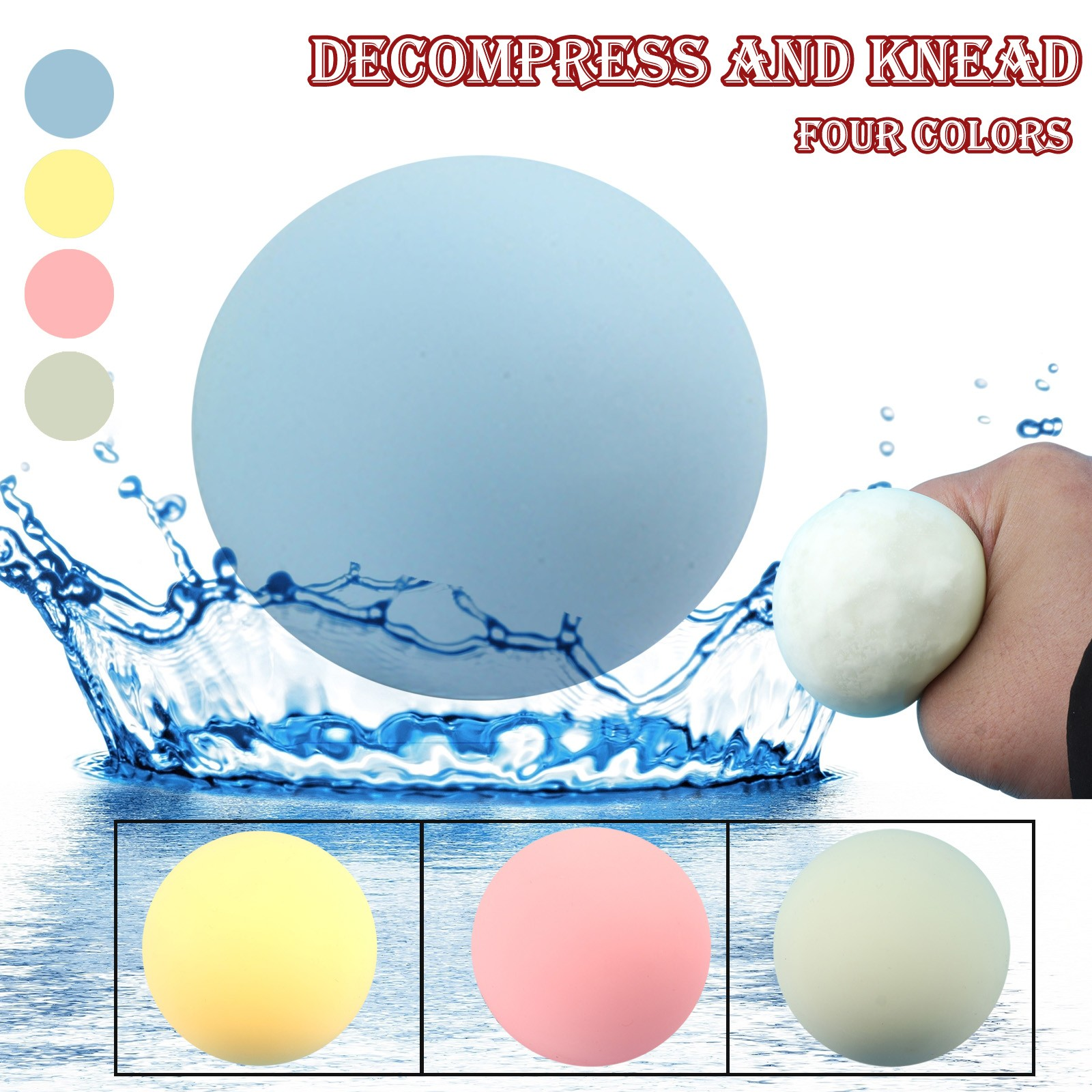 Fidget-Toys Decompression-Flour-Ball Anti-Stress Funny Popit Music TPR Simulation Kneading img2