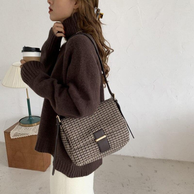 Fashion Women Shoulder Bags PU Leather Bag Luxury Handbags Women Bags Designer High Quality Ladies Messenger Bags Feminina