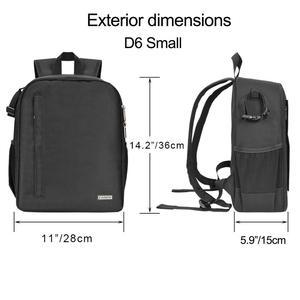 Image 5 - Caden câmera mochila multi funcional digital dslr câmera saco à prova dslr água ao ar livre câmera foto caso para nikon canon sony