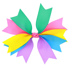 Hair Accessories For Girls Hairclip Fashion Lovely Sweet Baby Girl Bowknot Hairpin Multicolour Beautiful Delicate Headdress