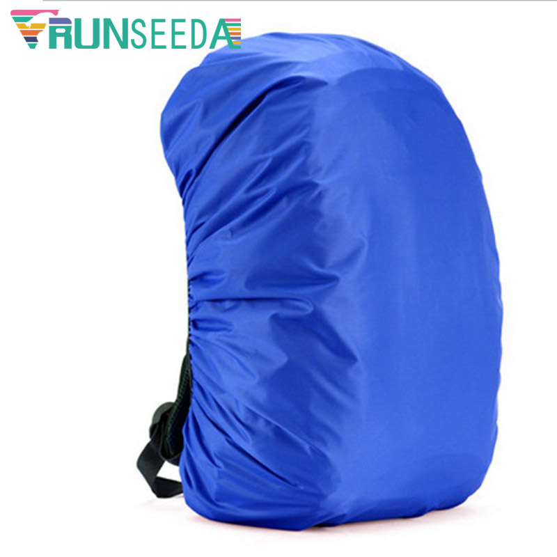 Runseeda 35L Outdoor Sports Camping And Hiking Waterproof Nylon Bag Cover Climbing Backpack Raincover Travel Bag Rain Dust Cover