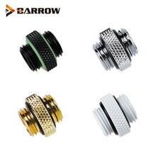 Barrow G1% 2F4 MINI Dual External Thread Connection Male To Male Fittings +Вода Охлаждение Сборка Фитинги система