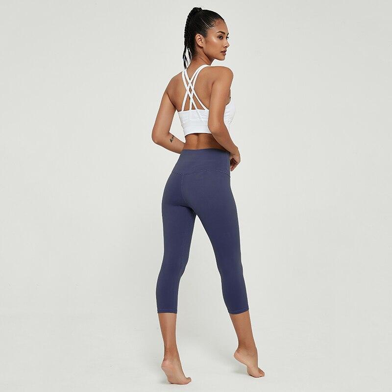 Cardism Women's Yoga Pants High Waist Sports Leggings  For Fitness Clothing Push Up Calf-Length Running Sweatpants Women Pants 5