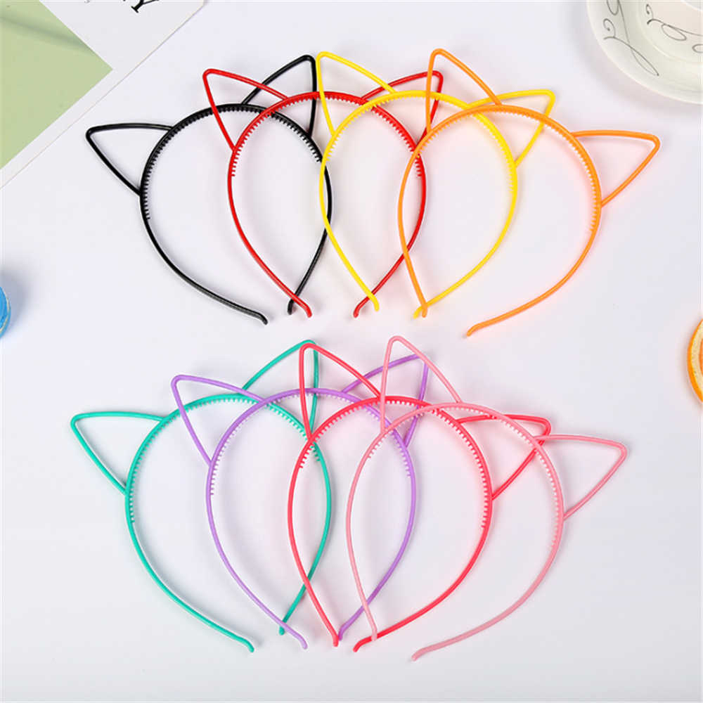 New Fashion Cat Ears Headband Hair Hoop For Baby Hairbands Birthday Party Hair Accessories