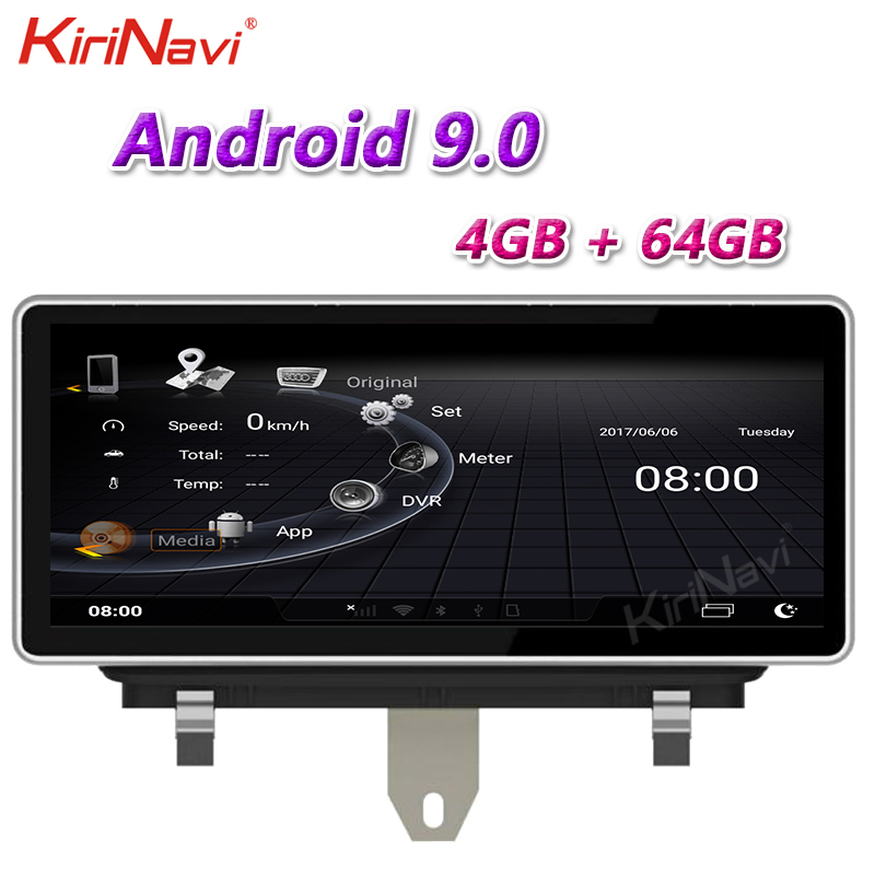 "KiriNavi 10.25"" Touch Screen 1 Din Android 10.0 Car Radio For Audi Q3 Car DVD Multimedia Player Stereo Carplay GPS 4G 2013-2018"