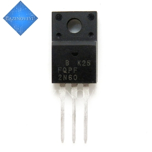 Image 1 - 10 sztuk/partia FQPF2N60C 2N60C 2N60 TO 220F 600V 2A nowy oryginalny w magazynie