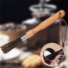 Кухонные инструменты машина кофе искусственная щетина шлифовальная машина Чистящая Щетка ложка пыли