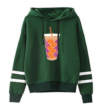 charli damelio merch Sweatshirt Men/Women Print Ice Coffee Splatter Hoodies Fashion Hip Hop hoodie Pullovers Tracksuit Clothes 20