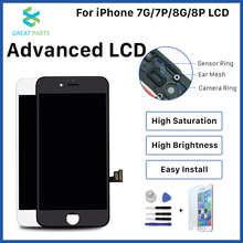 For iPhone 8 Plus LCD Display OEM Incell advance high quality Touch Screen Assembly Replacement Good 3D touch Free ship